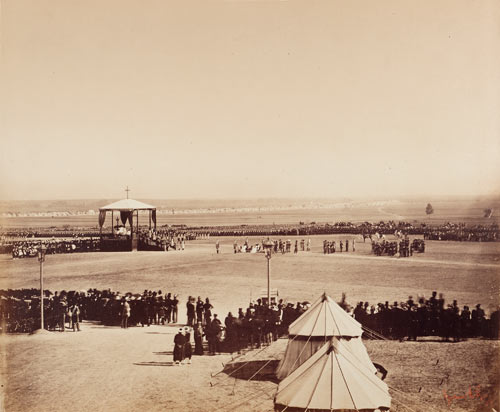 Gustave Le Gray, messe du 4 octobre 1857